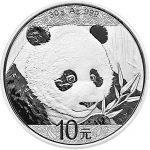 Silver Chinese Pandas