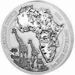 Silver Rwanda Wildlife Series