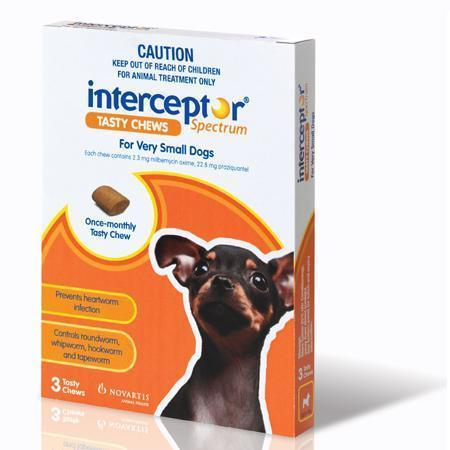 Interceptor Spectrum for Dogs & Puppies