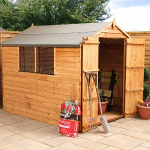 Corner Log Cabins