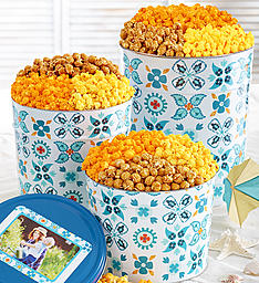 Baseball Team Popcorn Tins