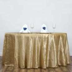 Crinkle Round Tablecloths