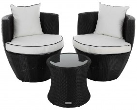 RATTAN BISTRO CHAIRS & TABLE SETS