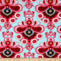 Damask Cotton Print Fabric