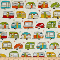 Retro & Mod Quilting Fabric