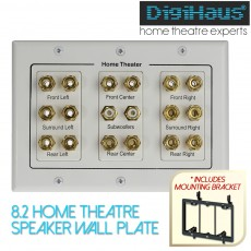 Home Theater Speaker Wall Plates