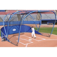 Portable and Permanent Baseball Backstops