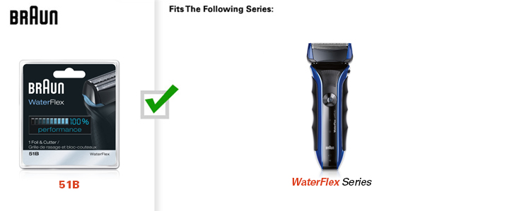 WaterFlex Shavers