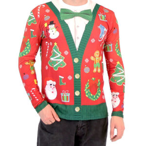 Christmas Theme Ugly Sweaters
