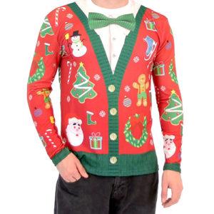 Ugly Santa Christmas Sweaters