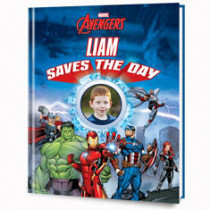 PERSONALIZED BOOKS STARRING MARVEL COMICS CHARACTERS