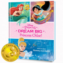 PERSONALIZED DISNEY BOOKS FOR YOUR PRINCESS
