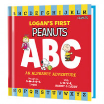 PERSONALIZED PEANUTS BOOKS