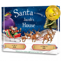 SANTA BOOKS. PERSONALIZED CHRISTMAS BOOKS FOR CHILDREN