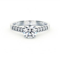 DIAMOND ENGAGEMENT RINGS AND ENGAGEMENT RING SETTINGS