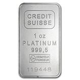 Platinum Bars & Rounds