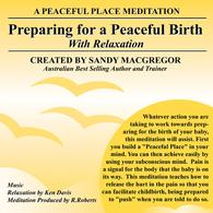 birth meditation items