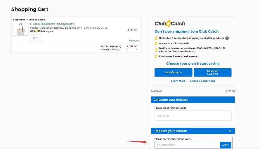 Catch.com.au Coupon