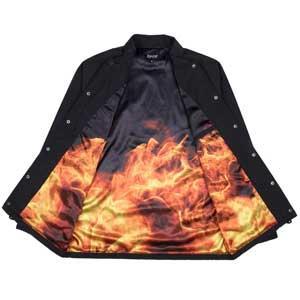Inferno Coach Jacket (Black)