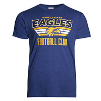 West Coast Eagles Mens Supporter T-Shirt