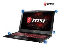 MSI GL62M 7REX-1067 15.6