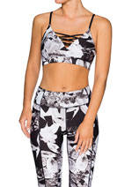 Neutral-Bloom nb ls Print Strappy Bra 2 for $80