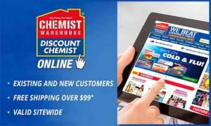 $3 for $10 voucher to spend at Chemist Warehouse Online with Free Shipping on Purchases Over $99