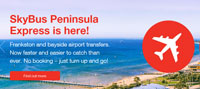 Peninsula Express Tickets Single Adult Fare from $22