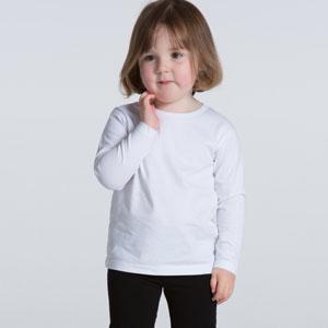 AS Colour Long Sleeve Kids Tee